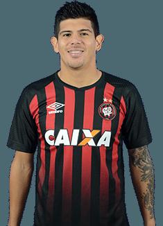 Esteban Andrés Pavez Suazo, meia do Atlético-PR