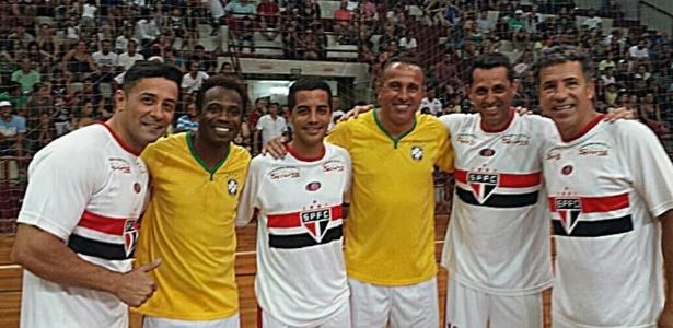 Ex-jogador foi detido em dezembro logo depois de participar de um jogo festivo - Divulgação
