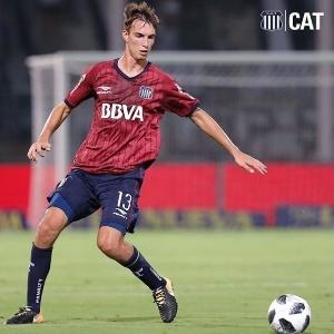 Juan Komar, de 21 anos, está na mira do Atlético-MG