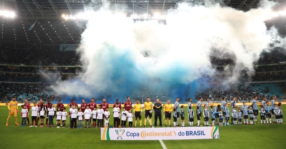 Flamengo e Grêmio vivem relação amistosa nos bastidores do futebol brasileiro