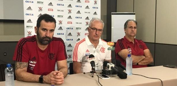 Novo técnico foi apresentado na concentração da equipe em Salvador, na Bahia - Divulgação/Flamengo