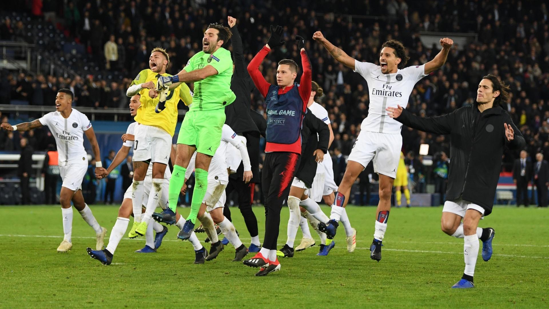 Após a vitória sobre o Liverpool, o PSG só depende de si para se classificar para a próxima fase