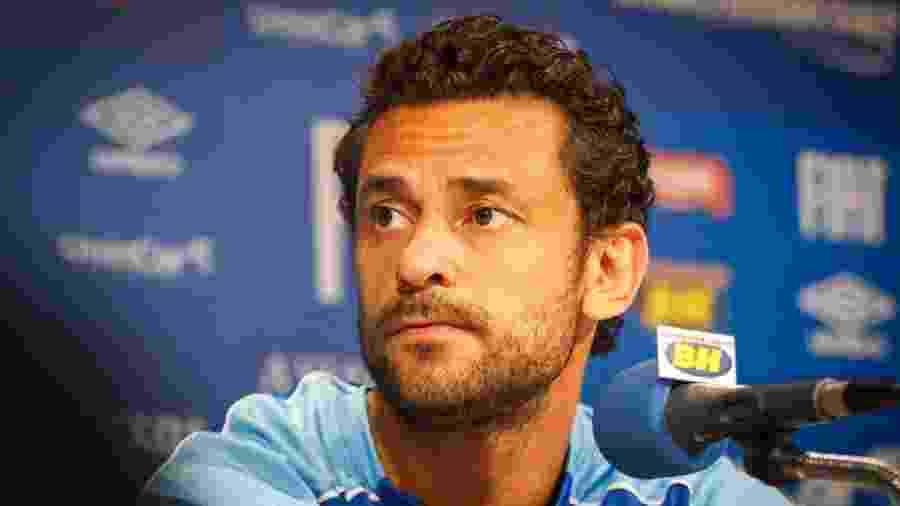 Atacante deixou o Atlético-MG em dezembro de 2017 e acertou com o Cruzeiro logo em seguida - Vinnicius Silva/Cruzeiro