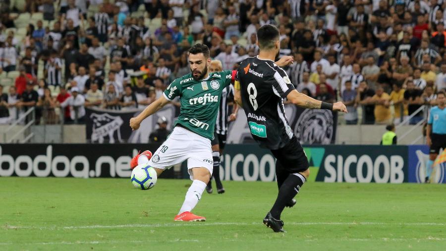 No primeiro turno, Ceará venceu o Palmeiras por 2 a 0 em Fortaleza - Pedro Chaves/AGIF