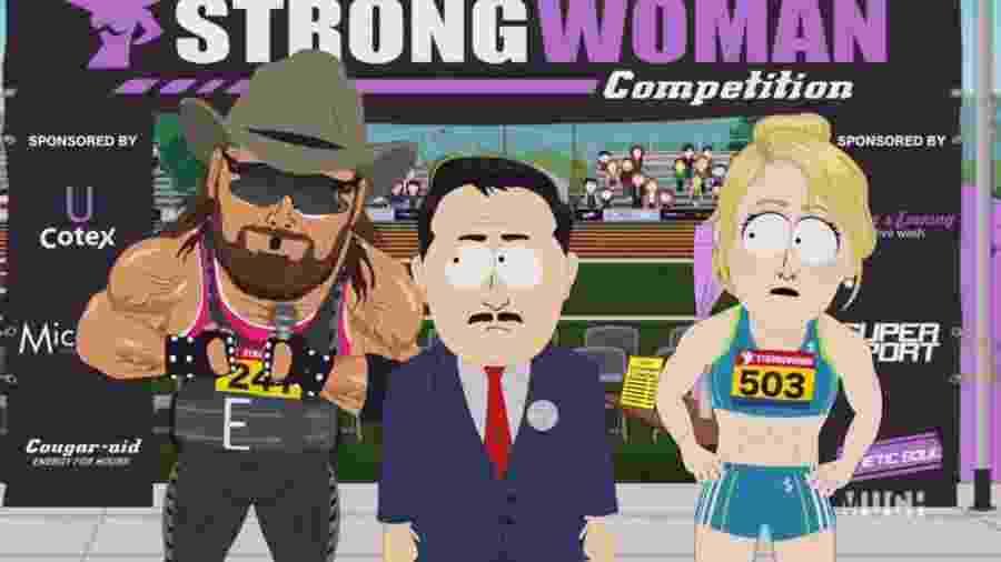 """Episódio """"Board Girls"""" de South Park - Reprodução/Comedy Central"""