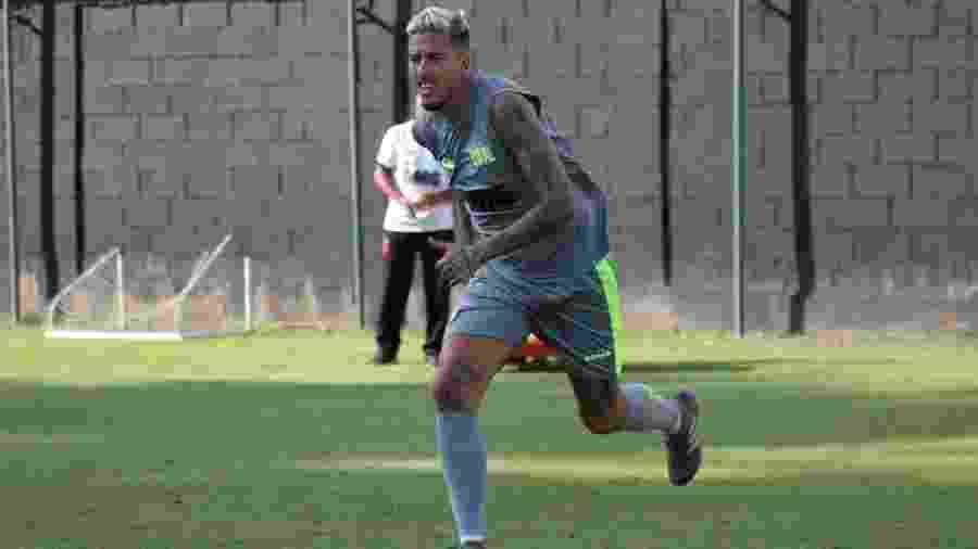 Marcos Júnior se destacou pelo Bangu ano passado e fez até gol sobre o Vasco antes de ser contratado - Carlos Gregório Júnior / Vasco