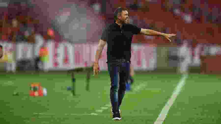 Eduardo Coudet  já mudou várias situações no Inter e contou com apoio dos atletas - Ricardo Duarte/Inter