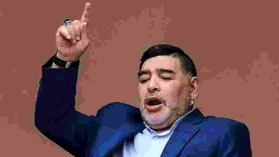 Diego Armando Maradona morreu hoje, na Argentina - RONALDO SCHEMIDT / AFP