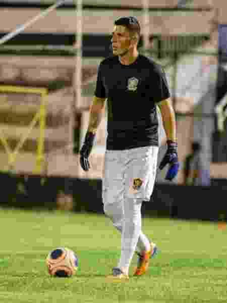 Rodrigo Carvalho, goleiro do Retrô FC - Divulgação/Retrô FC - Divulgação/Retrô FC