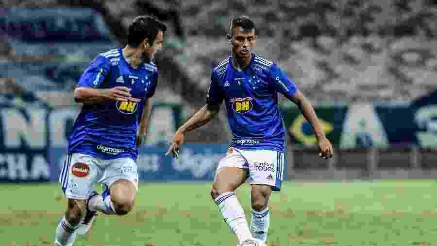 Welinton tem 18 jogos pelo Cruzeiro e fez dois gols com a camisa estrelada - Gustavo Aleixo/Cruzeiro