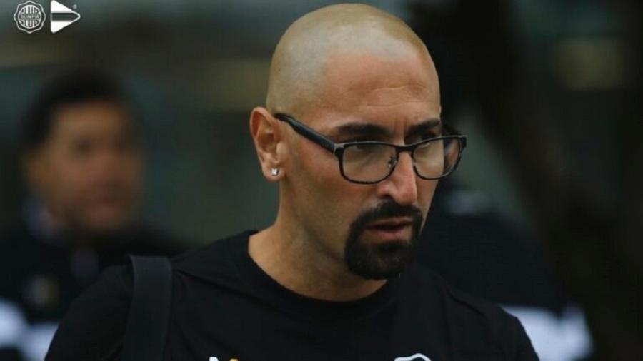 Sergio Orteman, técnico do Olimpia, adversário do Inter na Libertadores - Divulgação/Olimpia Media