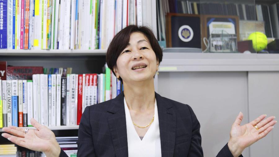 "19.mai.2021 - Kaori Yamaguchi: Olimpíadas ""perderam o sentido"" - Kyodo via Reuters"