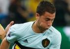 Hazard segue com dores na coxa e pode desfalcar Bélgica contra Gales - Eric Gaillard/Reuters