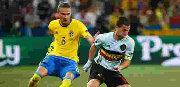 Hazard sente dores desde o início da Eurocopa - Eric Gaillard/Reuters