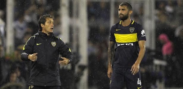 Técnico do Boca, Guillermo Barros Schelotto está na mira da AFA