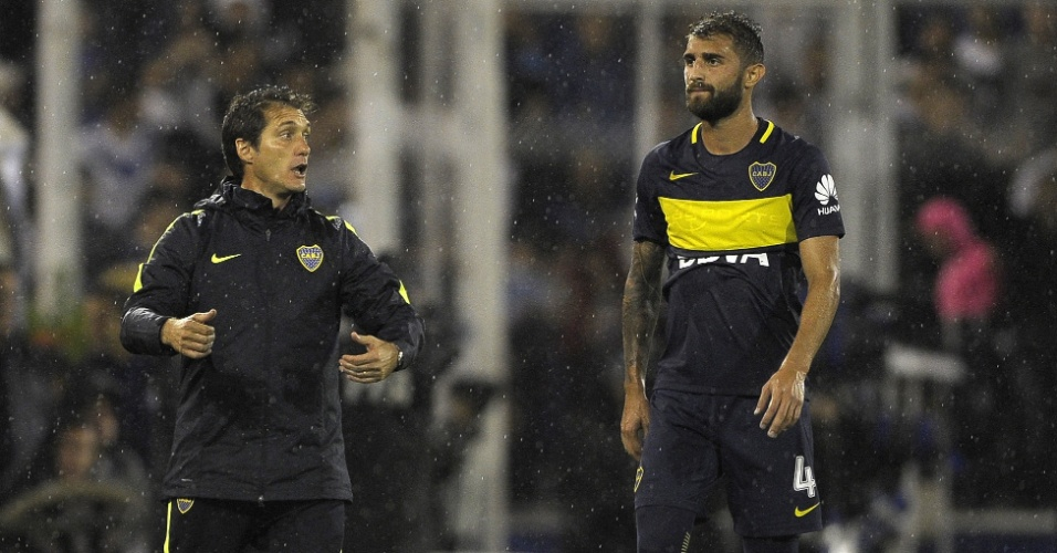 Guillermo Barros Schelotto, técnico do Boca Juniors, está na mira da AFA