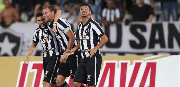 Botafogo tem contrato longo com principais destaques e deverá manter base do time para 2018