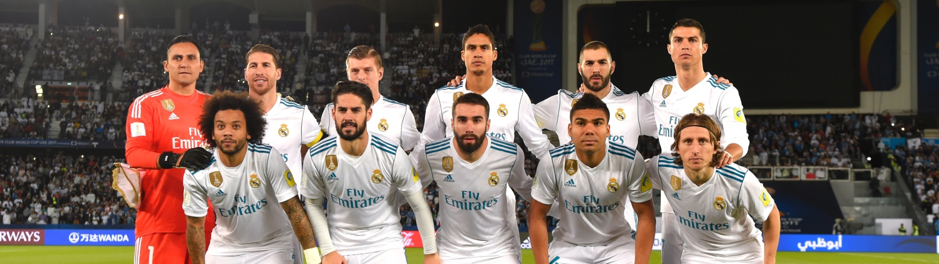 Time do Real Madrid posa para foto antes da final do Mundial de Clubes