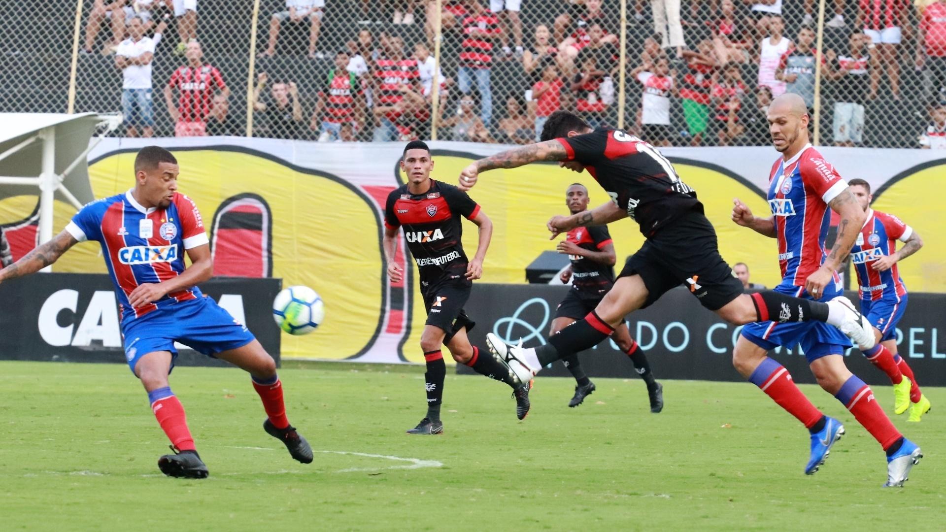 Vitória e Bahia se enfrentam no Barradão pelo Campeonato Brasileiro 2018