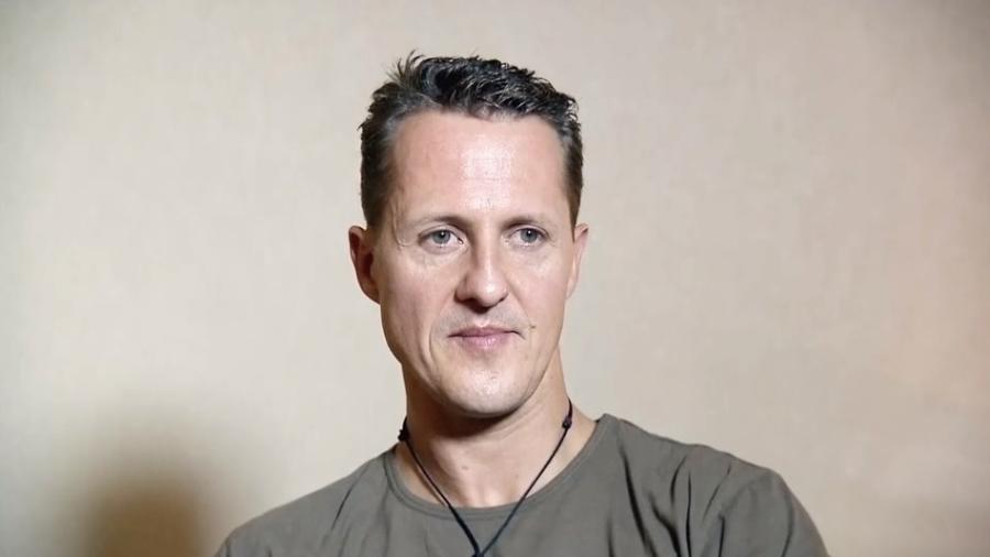 Schumacher em entrevista inédita antes do acidente - Reprodução