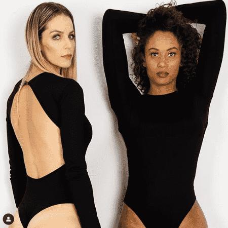 A ex-companheira Suelle foi uma das primeiras modelos de Fê Isis - Reprodução/Instagram