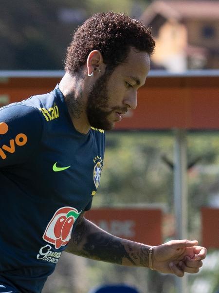 Neymar foi acusado de estupro, mas nega a agressão - Lucas Figueiredo/CBF