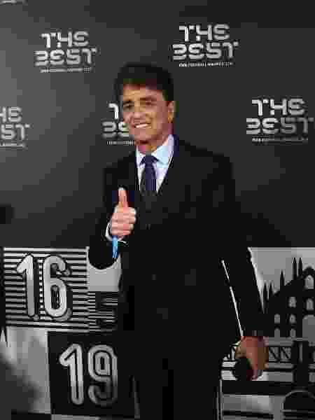 """Bebeto foi um dos ex-jogadores que compareceu à cerimônia """"The Best"""", da Fifa - Claudio Villa/Getty Images"""