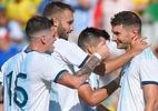 Argentina faz 6 a 1 no Equador e chega a cinco jogos seguidos sem derrota - José Jordan/AFP