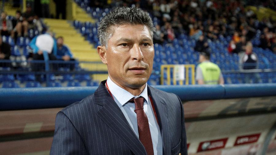 Krasimir Balakov, técnico da Bulgária - REUTERS/Stevo Vasiljevic