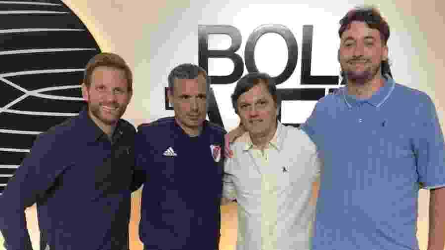 Gustavo Grossi, diretor de futebol do River Plate, participou do Bola da Vez, da ESPN Brasil - Divulgação