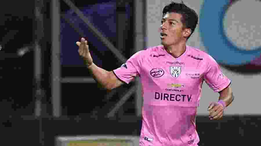 Alan Franco, ex-volante do Independiente del Valle, é o novo reforço do Atlético-MG no mercado da bola - Reprodução