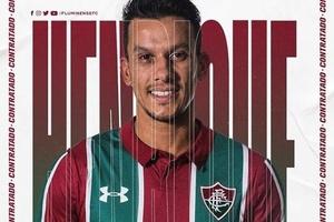 Fluminense anuncia volante Henrique, ex-Cruzeiro
