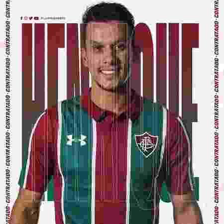 Henrique é anunciado pelo Fluminense - Reprodução / Instagram