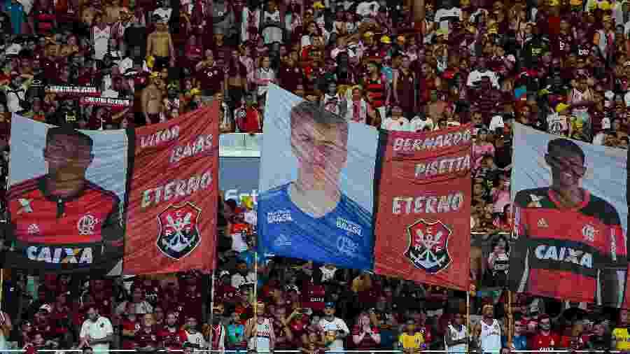 Torcidas organizadas do Flamengo planejaram ato para cobrar respostas da diretoria - Thiago Ribeiro/AGIF