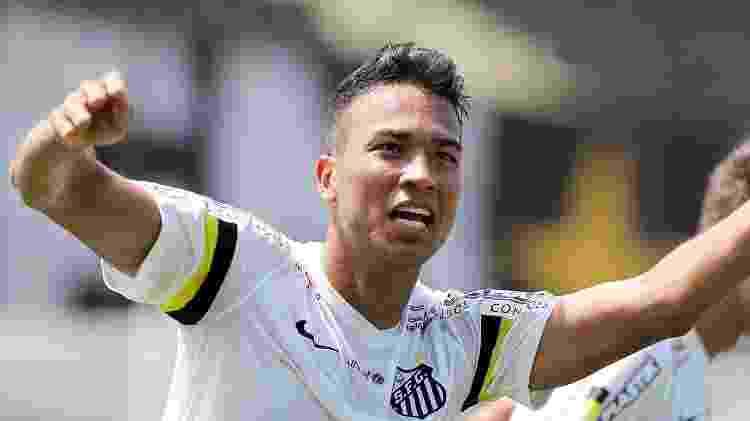 Gustavo Eugênio, ex-Menino da Vila - Pedro Ernesto Guerra Azevedo/Santos FC - Pedro Ernesto Guerra Azevedo/Santos FC