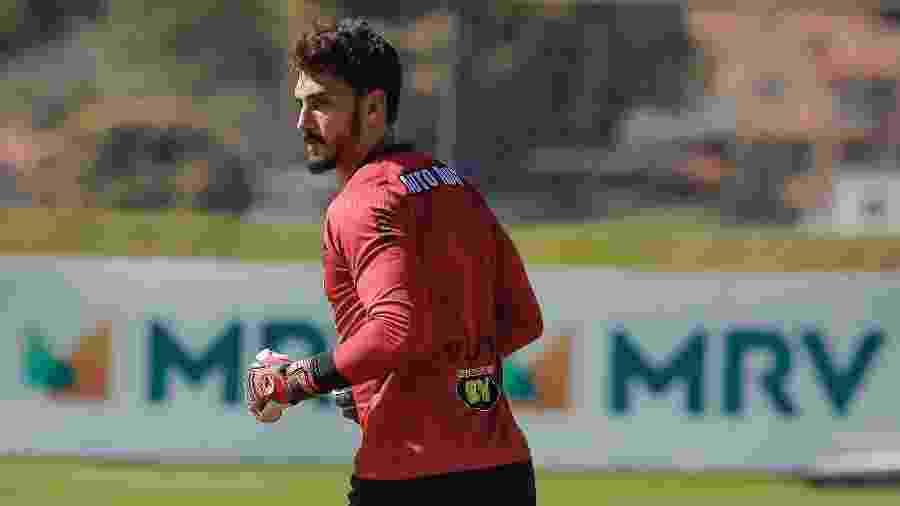 Rafael é considerado o goleiro titular do Atlético-MG e agradou a Jorge Sampaoli na volta do futebol mineiro - Bruno Cantini/Atlético-MG