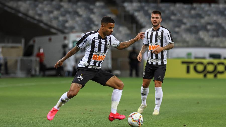 Allan recebeu cartões vermelhos no Campeonato Mineiro, Brasileiro e Sul-Americana, em 2020 - Pedro Souza/Atlético-MG