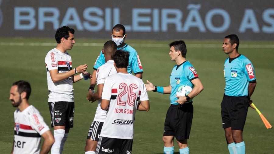 Goiás entra em campo pela primeira vez no Brasileiro após ter estreia suspensa - Heber Gomes/AGIF
