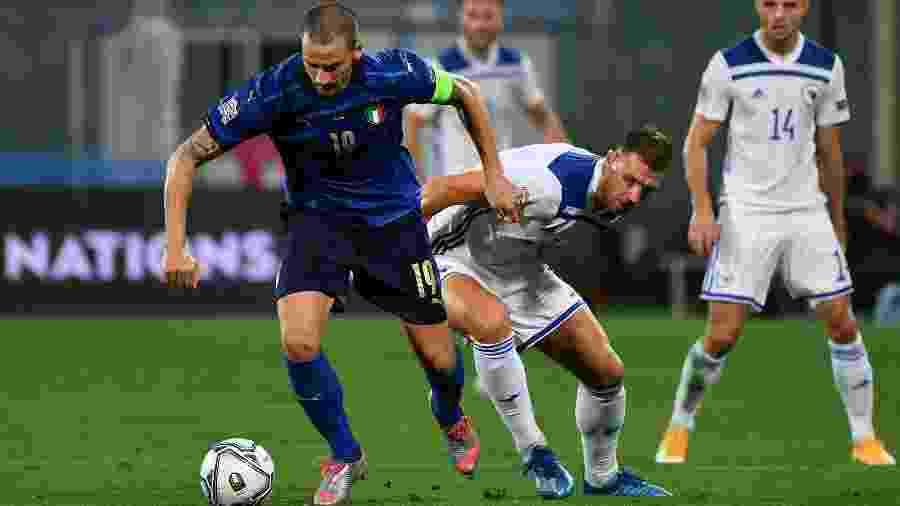 Gols da partida foram marcados no segundo tempo - Isabella Bonotto/AFP