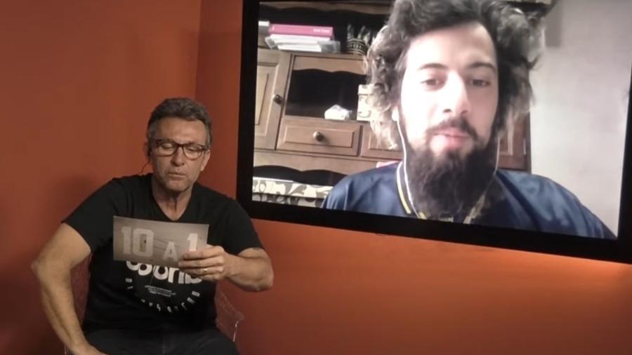 Neto pede Cartolouco na Band - Reprodução/YouTube