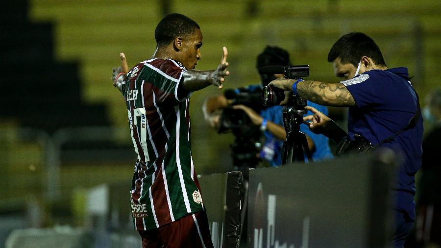 Kayky foi o melhor em campo na goleada do Fluminense sobre o Macaé pelo Carioca - Lucas Merçon/Fluminense FC