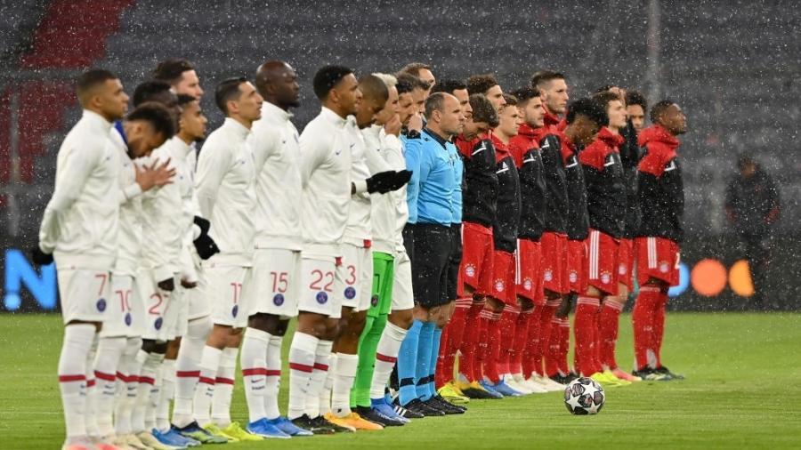 Bayern de Munique e PSG se enfrentam na Allianz Arena pela Liga dos Campeões - Sebastian Widmann - UEFA/UEFA via Getty Images