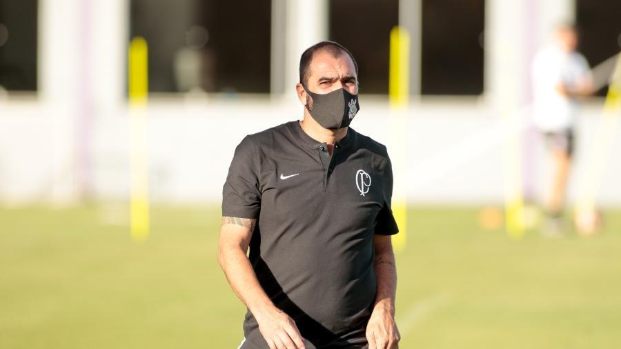 Danilo assumiu a equipe sub-23 do Corinthians nesta temporada  - Rodrigo Coca/ Ag. Corinthians