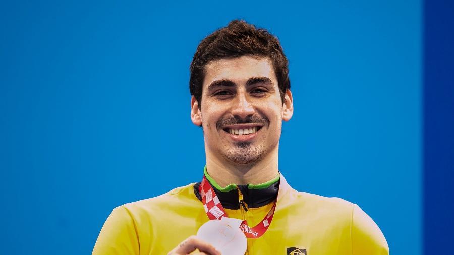 Talisson Glock conquista bronze nos 100m livre S6 - Ale Cabral/CPB
