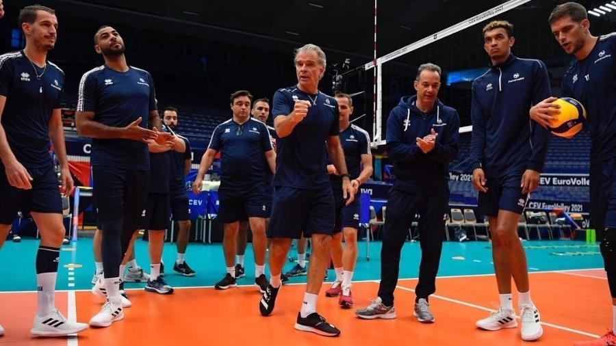 Técnico brasileiro passou a comandar seleção europeia após os Jogos Olímpicos - Reprodução/Instagram