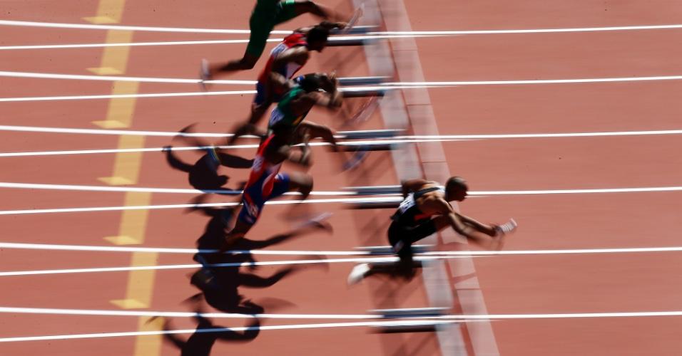 Warner fez o melhor tempo dos 110m com barreiras do decatlo