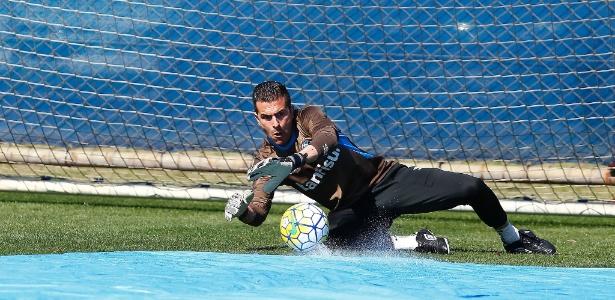 O goleiro Marcelo Grohe tem esperanças de se recuperar de lesão e jogar o clássico