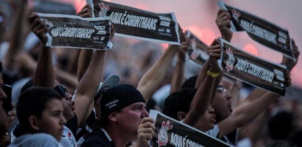 Média de público da Arena Corinthians é de quase 31 mil torcedores - Eduardo Anizelli/Folhapress