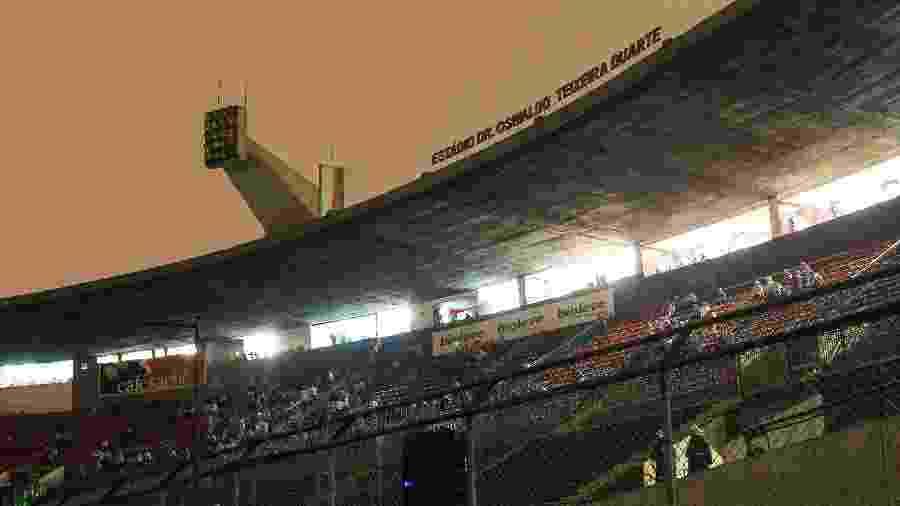 Imagem do estádio do Canindé em 2017 - Julia Chequer/Folhapress