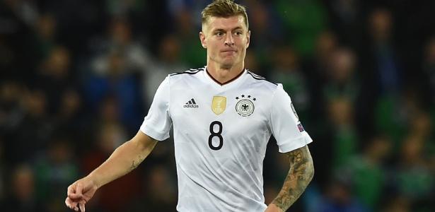 Kroos fez dois gols na vitória da Alemanha sobre o Brasil na Copa de 2014 - Charles McQuillan/Getty Images